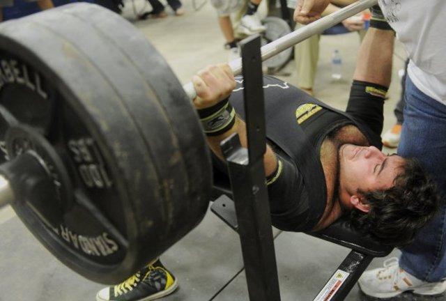 Heavy Bench Pressing