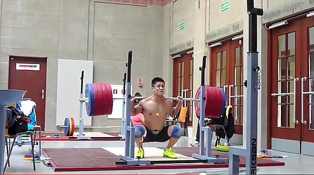 Lu-Xiaojun squat