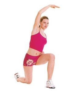 Hip Flexor Stretch with Reach