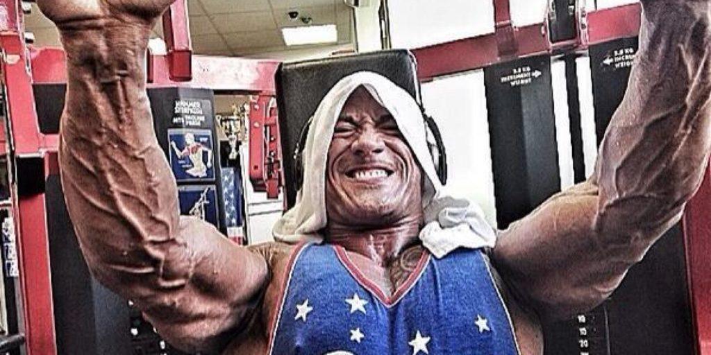 Big biceps & triceps