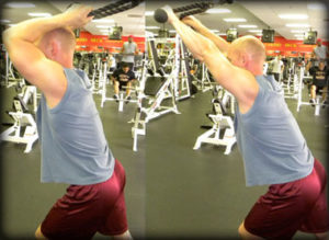 Rope triceps extension