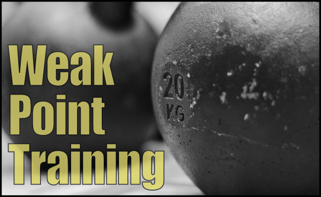 Why Weak-Point Training Doesn't Work